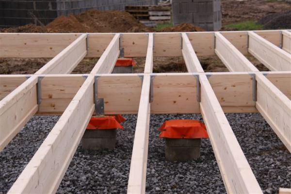 La poutre inopanne en plancher inosol r f rences bati journal - Espacement solive plancher bois ...